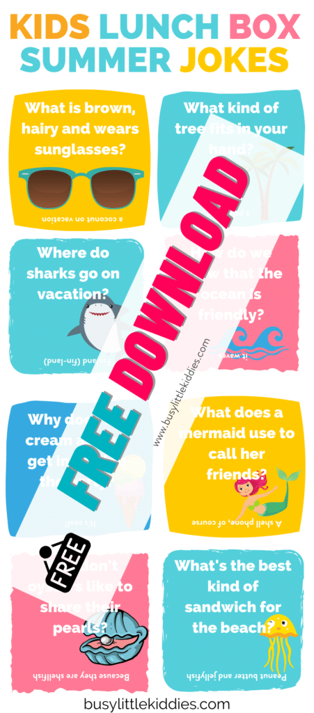 Lunch box jokes Summer Jokes- - free download