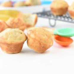 Baby banana muffins