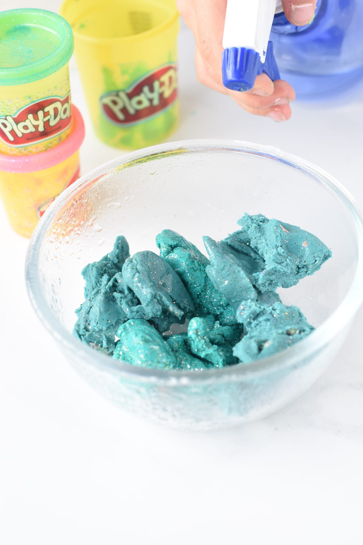 How to fix old playdough