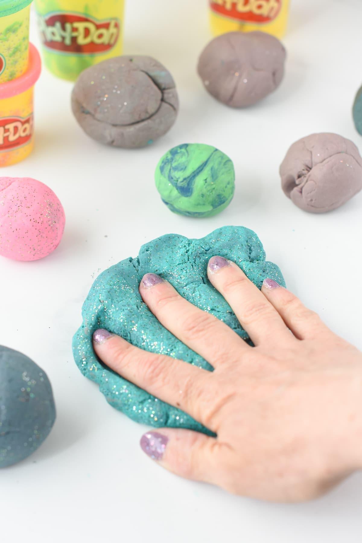 How to fix dry playdough