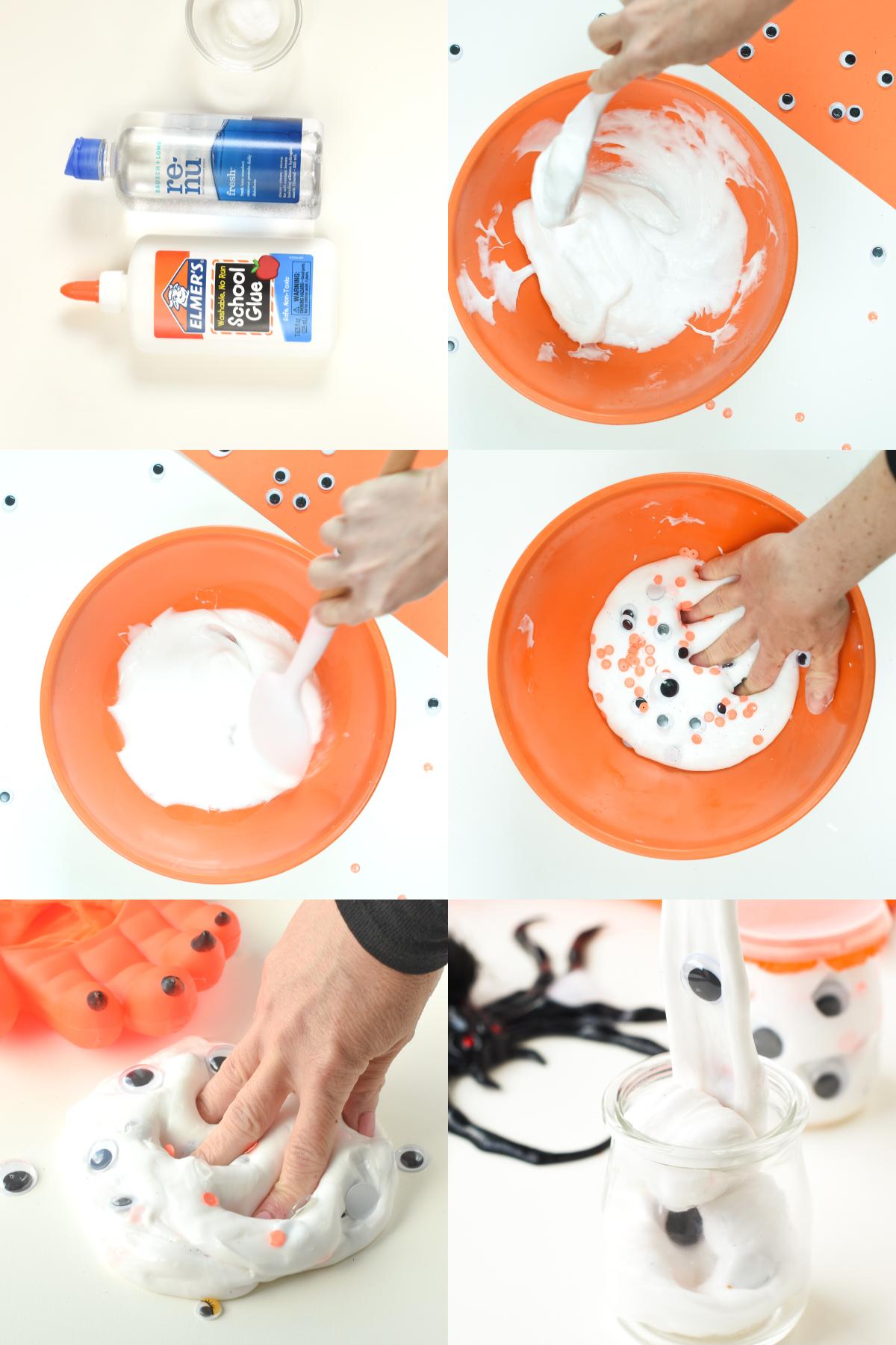 How to make Halloween Slime RecipeHow to make Halloween Slime Recipe