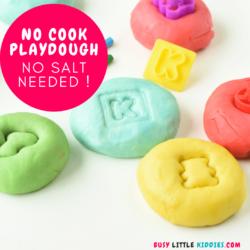 Playdough no cook