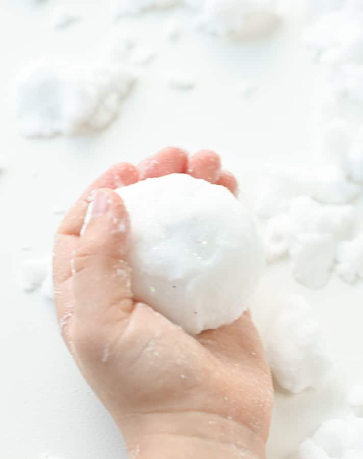 Snow dough