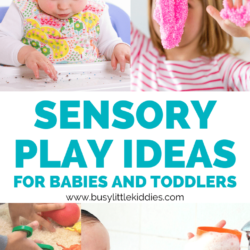 Why is sensory play important for toddlers
