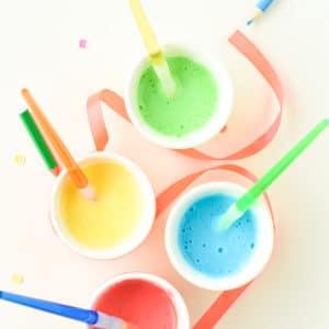 toddler finger paint recipe